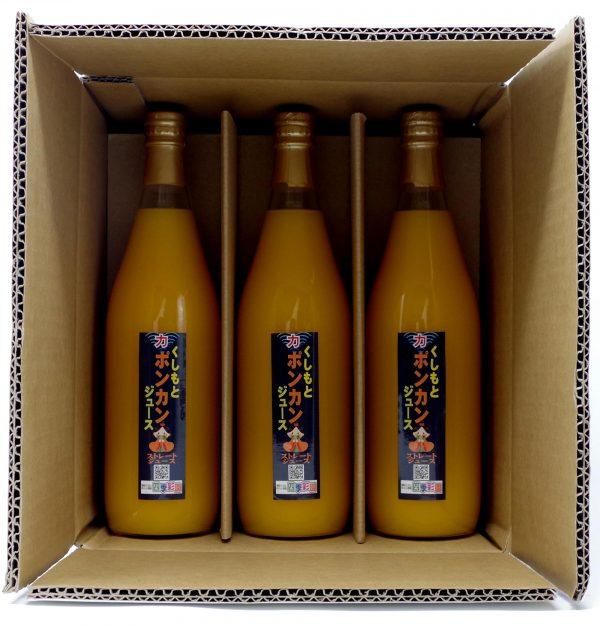 ポンカンジュースB3本箱